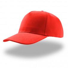 Бейсболка LIBERTY FIVE, застежка на липучке, красный