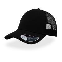 Бейсболка RAPPER JERSEY, пластиковая застежка, черный
