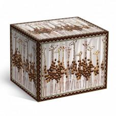 Коробка под кофейную кружку жирафы