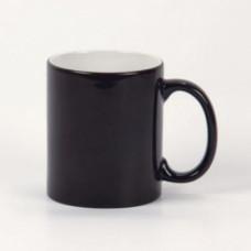 Кружка керамика хамелеон черная премиум 330мл