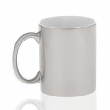 Кружка керамика серебро 330мл