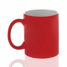 Кружка керамика хамелеон красная матовая стандарт 330мл