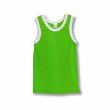 Майка детская х/б светло-зеленая (30) 110-116