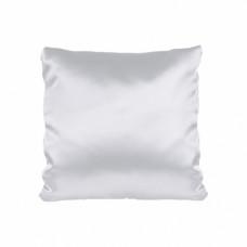 Наволочка атлас, 40х40 см, белая
