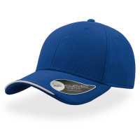 Бейсболка ESTORIL, застежка на липучке, синий и белый