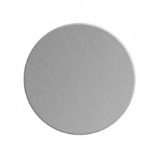 Заготовка значка серебро круг металл для сублимации D45мм