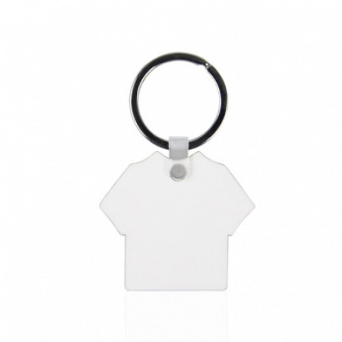 Брелок МДФ футболка 50х45 мм