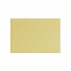 Заготовка значка золото прямоугольник металл для сублимации 30х45мм