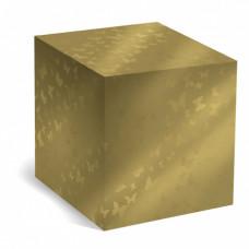Коробка под кружку золотая графика
