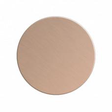 Заготовка значка бронза круг металл для сублимации D40мм