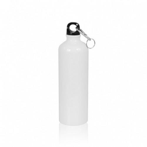 Бутылка металл белая стандарт 750мл