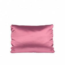 Наволочка розовая, атлас, 300х500мм