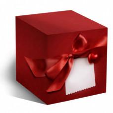 Коробка под кружку Красное сердце