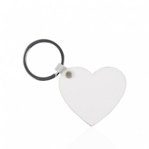 Брелок МДФ сердце 50х45 мм