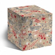 Коробка под кружку С Новым годом