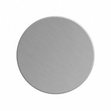 Заготовка значка серебро круг металл для сублимации D40мм