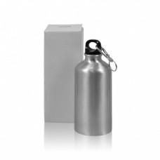 Бутылка металл серебро стандарт 500 мл
