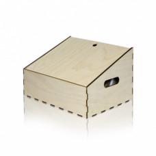 Коробка дерево трапеция 120 h1 х 190 h2 х 305 шир х 250 глуб. мм